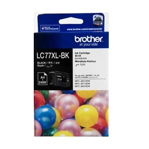 Brother LC77XLBK Black High Yield Ink Cartridge