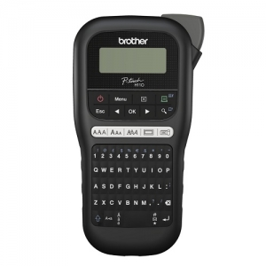 Brother P-Touch PTH110 Durable Label Printer - Black