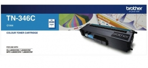 Brother TN346C Cyan High Yield Toner Cartridge
