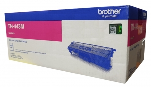 Brother TN443M Magenta High Yield Toner Cartridge