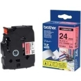 Brother TZEB51 Black on Fluro Orange 8m x 24mm Label Tape