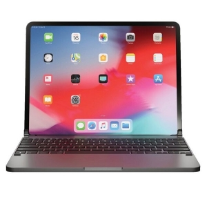 Brydge Pro Wireless Keyboard for iPad Pro 12.9 inch 3rd and 4th Gen - Space Gray