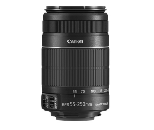 Canon 55 - 250 mm f/4 - 5.6 Telephoto Zoom Lens for Canon EF/EF-S