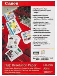 Canon HR101A3 A3 High Resolution Paper - 100 Pack