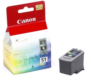 Canon CL-51 Tri-Colour High Yield Ink Cartridge