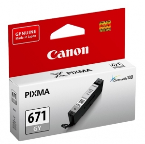 Canon CLI-671 Grey Ink Cartridge