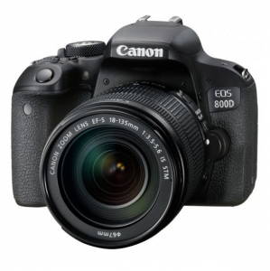 Canon EOS 800D 24.2 Megapixel Digital Camera with 18-135 USM Single Lens Kit