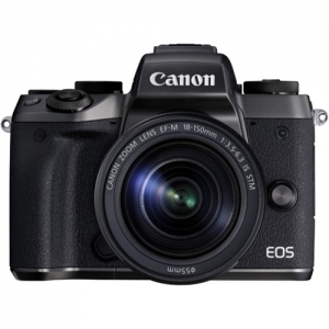 Canon EOS M5 24.2 Megapixel Mirrorless Digital Camera with 18-150 ST Lens Kit