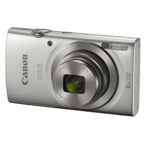 Canon IXUS 185 20.5 Megapixel 8x Optical Zoom Digital Camera - Silver
