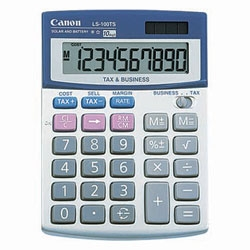 Canon LS100TS 10 Digital Tilt Screen Mini Desktop Calculator