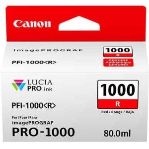 Canon PFI-1000R Red 80ml Ink Tank Cartridge