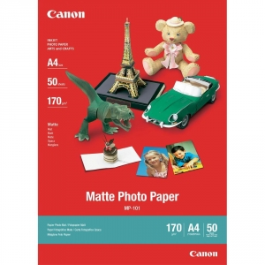 Canon MP101 Matte A4 170gsm Photo Paper - 50 Sheets