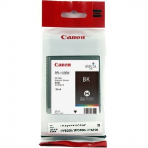 Canon PFI-103BK Black 130ml Ink Tank Cartridge