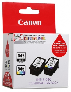 Canon PG645 CL646 Black & Colour Ink Cartridge - Twin Pack