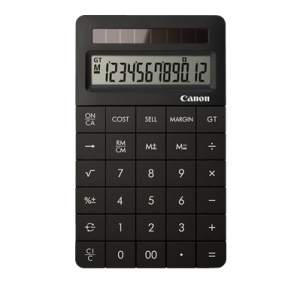 Canon X MARK II Solar Powered Calculator