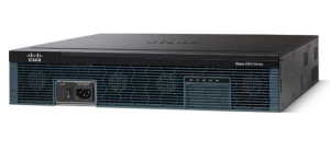 Cisco 2921 Router 3 Ports 12 Slots Rack-mountable