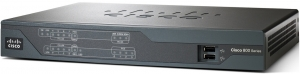Cisco 881 Ethernet Security 5 Ports Desktop Router