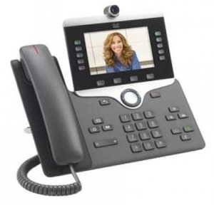 Cisco 8845 IP Phone VoIP Caller ID Speakerphone 2 x RJ45