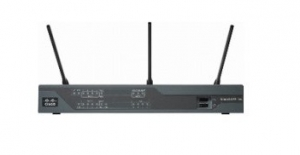 Cisco 887VAW Wireless Security Router IEEE 802.11n 3 x Antenna ISM Band 54Mbps Wireless Speed 4 x Network Port USB