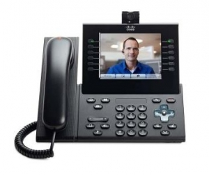 Cisco 9971 Wireless VoIP Caller ID USB PoE Ports IP Phone