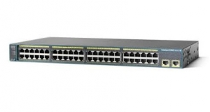 Cisco Catalyst 2960-48PST-L 50 Port Manageable POE Ethernet Switch