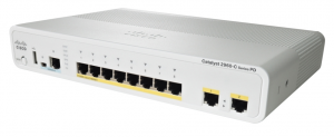 Cisco Catalyst WS-C2960CPD-8PT-L 10 Ports Manageable Ethernet Switch 10 x POE 10/100/1000Base-T