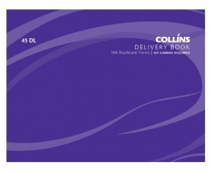 Collins 100x130mm Delivery Duplicate NCR Book - 100 Leaf