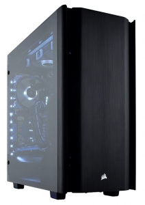 Corsair Obsidian Series 500D Mid Tower Case with Tempered Glass Side Panel - Black