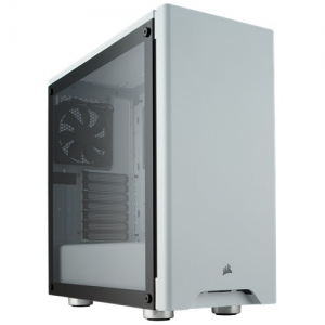 Corsair Carbide Series 275R ATX Mid-Tower Tempered Glass Case - White