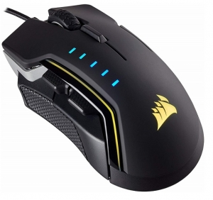 Corsair Glaive RGB Pro 18000 DPI USB Wired Gaming Mouse - Aluminum