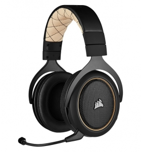 Corsair HS70 Pro Wireless Gaming Headset - Cream
