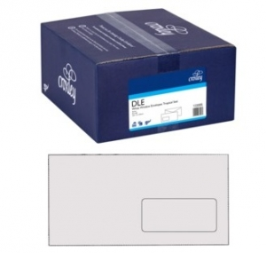 Croxley DLE Window Seal-Easi White Envelope - 500 Pack