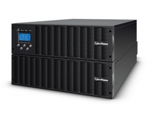 CyberPower Online S 6000VA 5400W Hardwire Terminal Block Outlet Online Double Conversion Rack/Tower UPS