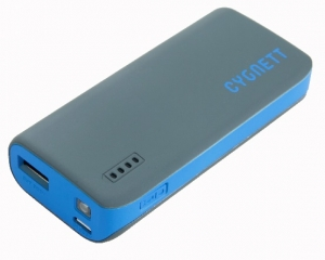 Cygnett ChargeUp Sport 4400mAh Battery Powerbank - Grey & Blue