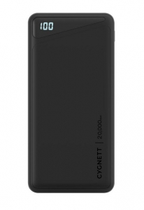 Cygnett ChargeUp Boost 2 20000mAh 3 Port USB-A & USB-C Powerbank with 45W Laptop Power Delivery - Black