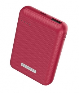 Cygnett ChargeUp Reserve 10000mAh Dual Port USB-A & USB-C Powerbank with 18W Fast Charging - Red