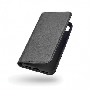 Cygnett CitiWallet Premium Leather Wallet Case for iPhone 8 - Black