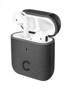 Cygnett Tekview Pod Protective Case with Wireless Charging for Apple AirPods (2nd Gen) - Black