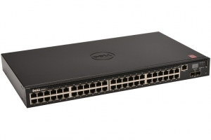 Dell N2048 48-Port Layer 3 10/100/1000Base-T Managed Switch + 2 x SFP+
