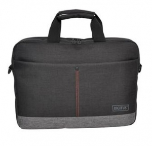 Digitus Notebook Briefcase Bag with Carrying Strap for 14 Inch Laptops - Graphite