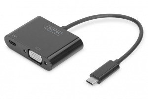 Digitus USB-C to VGA Adapter Cable with Power Delivery