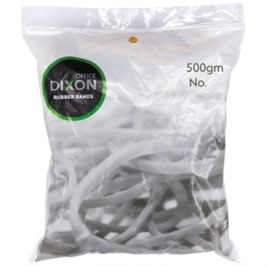 Dixon No.12 Rubber Bands 500g Pack