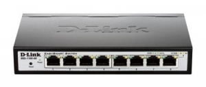 D-Link DGS-1100-08 8 Port Manageable Gigabit Ethernet Switch - Desktop