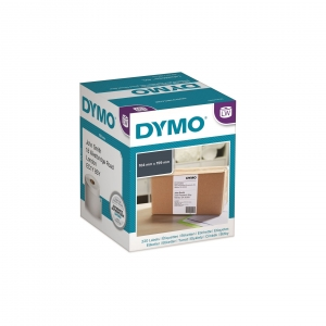 Dymo LW 104mm x 159mm Black on White Shipping Label Roll
