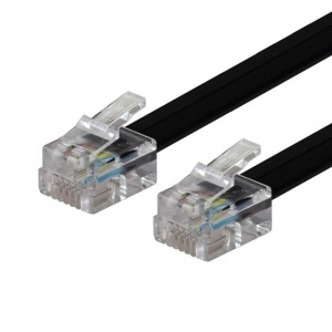 Dynamix RJ-12 to RJ-12 2M Cable 6C All pins connected straight through