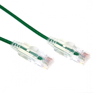 Dynamix 1.5m Green Cat6A Slimline 10G Component Level UTP Patch Lead