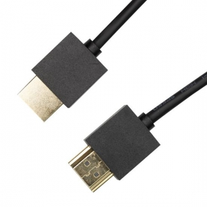 Dynamix 1m Nano High Speed HDMI 2.0 Cable with Ethernet - Black