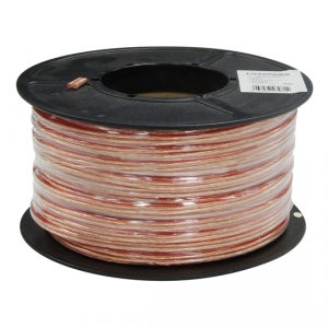 Dynamix 100M 14AWG/2.08mm2, OFC 51/0.25BC x 2 Core Speaker Cable