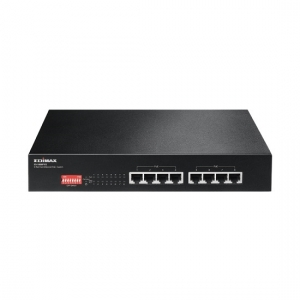 Edimax ES-1008P V2 Long Range 8-Port Fast Ethernet PoE Un-Managed Switch with DIP Switch