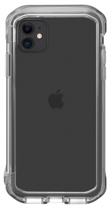 STM Element Rail Case for iPhone 11 & XR - Clear/Clear